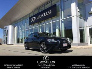 2015 Lexus GS 350 F Sport with 18 way power driver seat