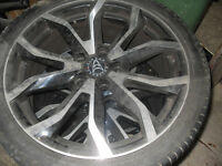 17 inch wolfrace wheels and tyres