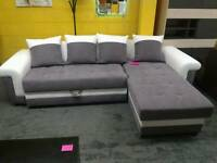 New Fabric corner sofa bed