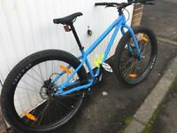 Kona single speed mountain bike.