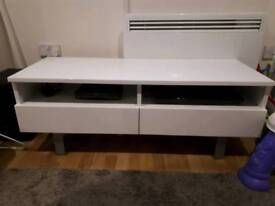 TV stand with 2 large drawers