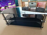 *Free* Large Glass TV Stand