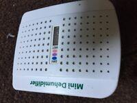 Used mini dehumidifier