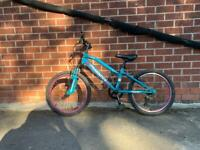 Girl muddyfox mountain bike with suspension