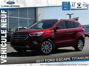 2017 Ford Escape Titanium*103$/Semaine*