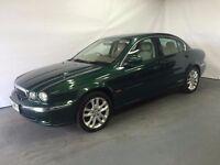 Jaguar X-Type 2.1 Petrol V6 S 2003 (03) Green 4 door Saloon £899 LONG MOT