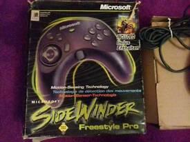 Sidewinder freestyle pro
