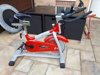 V-FIT AEROBIC TRAINING BIKE. IN A VERY GOOD CONDITION.