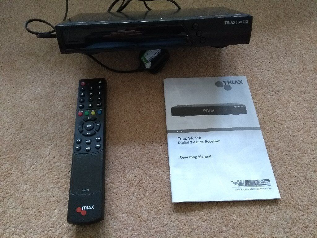 Sky amstrad drx280 digibox sky+ remote and all leads/manual.