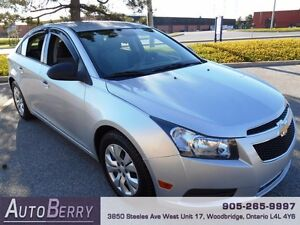 2013 Chevrolet Cruze LS *** Certified and E-Tested *** $6,999