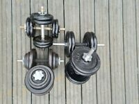 Cast Iron dumbbells
