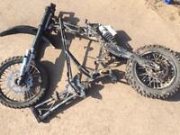 Crf 70 Pit Bike Pitbike roller rolling frame