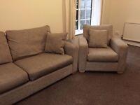 JOHN LEWIS Gino fabric armchair chair