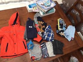 Boys bundle clothing 4-5 years