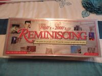 'REMINISCING' 1960'S - 2000'S' BOARD GAME AGE 12 - ADULT