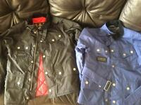 Barbour international kids jackets