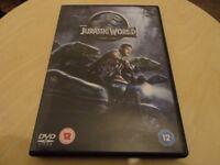 Jurassic World DVD Movie