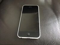 iPhone 5c white good condition great working order can deliver