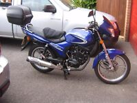 2009 KYMCO PULSAR 125 1 OWNER FROM NEW VERY LOW MILEAGE AND AMAZING CONDITION