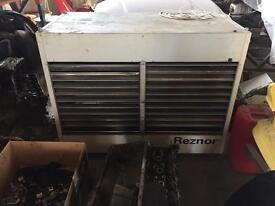 Large industrial heater