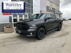 2017 Ram 1500  NIGHT ED/20WHEELS