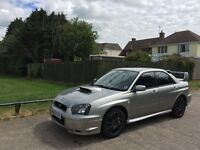 2005 Subaru Impreza ST Type UK DCCD Widetrack