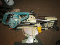 makita LS0714L mitre saw 110v for parts or repair