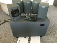 EDIFIER R501T SELF POWERED MULTIMEDIA SURROUND SOUND SPEAKER SYSTEM