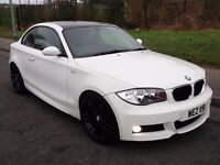 2009 BMW 120D M SPORT *COUPE* ALPINE WHITE!! FULL MOT LIKE MINI 320D GOLF LEON ASTRA A3 A4 FOCUS