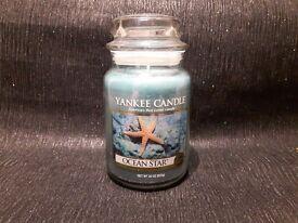 Yankee Candle Large Jar Ocean Star Very rare