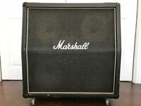 Marshall 4x12 Slant Cab - G12M Greenback (Blackback) speakers