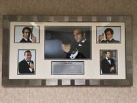James Bond 007 - Beautifully Framed Movie Art - Picture / Photograph / Collection / Montage - As New