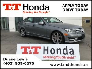 2012 Mercedes-Benz C-Class C350 4MATIC* LOW KMs, Heated Seats, L