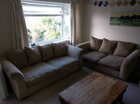 Sofas, 2 and 3 seater