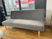Grey couch / pull down bed