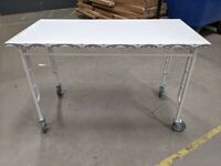 IKEA Southampton, SAMMANKOPPLA, Table, white/black, 120x60 cm, WAS £30 #CircularHub