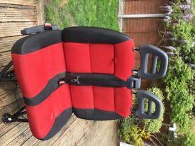 PEUGEOT BOXER FIAT DUCATO CITRON RELAY FRONT LEFT PASSENGER DOUBLE SEAT