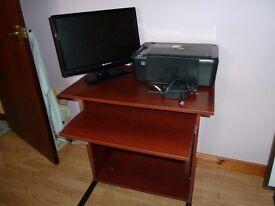 Packard Bell LCD monitor / Printer / Computer desk
