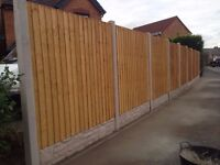10 bays of fence supply and fit £650 ( fencing ) **WINTER OFFER** 07546015179