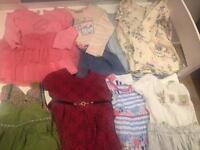 Girls bundle clothes size 1-1.5 and 12-18 next etc