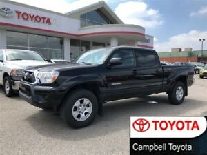 2015 Toyota Tacoma SR5--V6--DOU CAB 4X4--LOCAL TRADE--SERVICED H