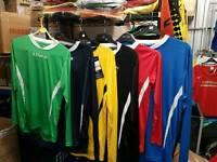 Football kits clearance and trophies