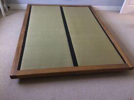 Minimal Modern Kingsize bed - Platform bed from Futon Company