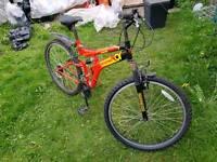 Sussed Team Polaris Dual Suspension Mountain Bike