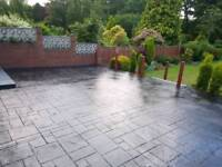 Patios, Slabbing, Concreting, Concrete printing, Driveways and Blockpaving