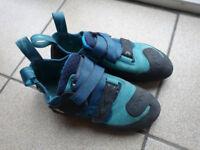 climbing shoes Evolv Kira size 7.5 used