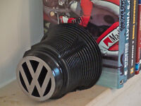 Bookends made from VW Beetle engine cylinders - One Pair