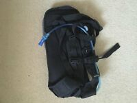 Brand New Compact slimline rucksack hydration pack with Water storage and sealed drinking pipe