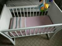 Babies R Us rocking crib