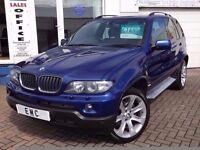 2006 56 BMW X5 3.0d auto Le Mans Blue Sport Edition~FSH~3 KEYS~1 YR MOT!~